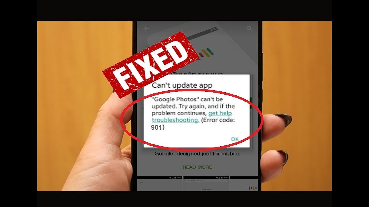 How To Fix 901 Error In Google Playstore By Teach Something