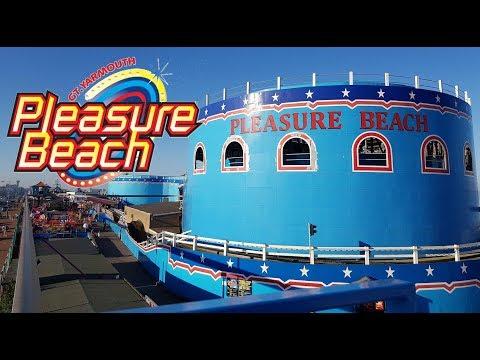 Great Yarmouth Pleasure Beach Vlog - May 2018