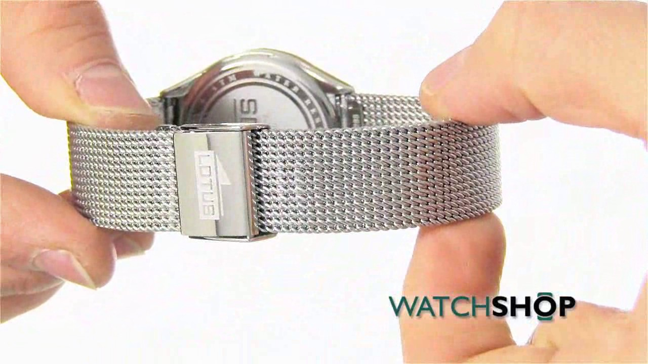 Lotus Ladies  The Couples Watch (L18288 2) - YouTube 028879dff03