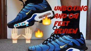 """2013 Nike Air Max Plus TN """"Hyper Blue"""" Unboxing and On Feet"""