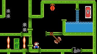 Mario and the Perplexing Pipe Maze