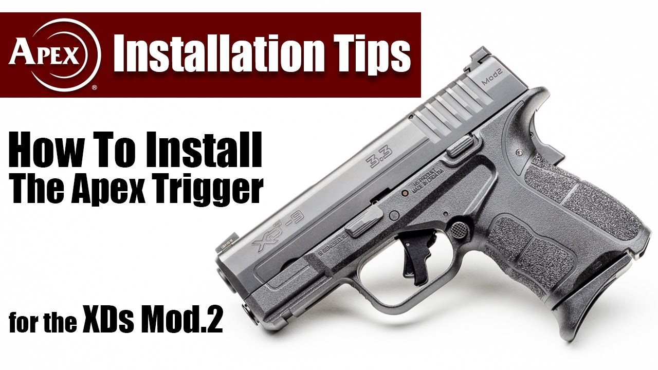 How To Install The Apex Action Enhancement Trigger For The Springfield XDs Mod.2
