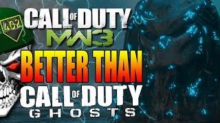 Call of Duty Ghosts vs Call of Duty Modern Warfare 3 (COD MW3 Gameplay)