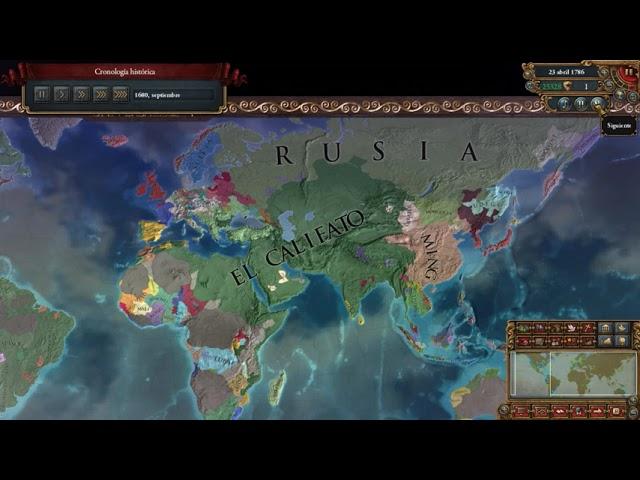 Timeline | Conquista Mundial en el EU4