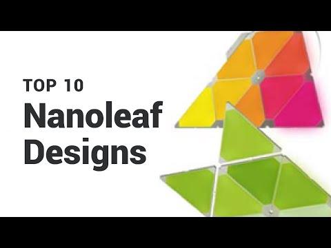 Top 10 Nanoleaf Designs (with 9 Panels)
