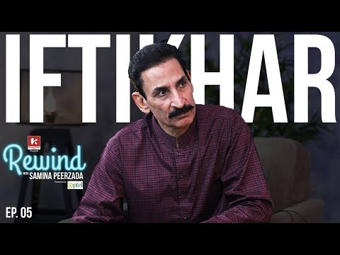 Download Youtube: Iftikhar Thakur on Rewind with Samina Peerzada | Funny Interview | Comedian | Jokes | Episode 5