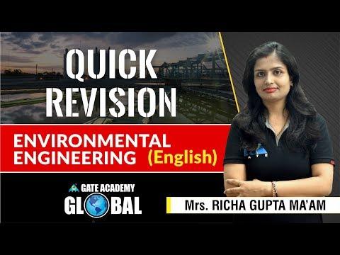 Quick Revision | Environmental Engineering
