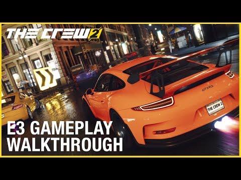 The Crew 2   10 минут геймплея| Cars, Planes, Boats   E3 2017 1080p