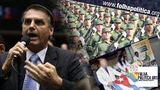 Capitão do Exército Cubano descoberto infiltrado no 'Mais Médicos': veja quando Bolsonaro denun..