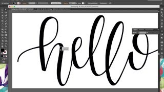 Tutorial: How to Digitize Hand Lettering & Calligraphy Using Illustrator | BySamantha