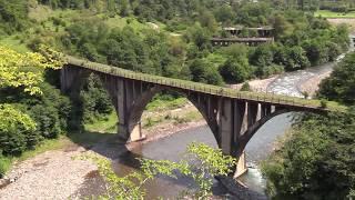 видео: Заброшенный город АКАРМАРА.Водопады.Абхазия.