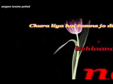 Chura Liya Hai karaoke by vickey roy