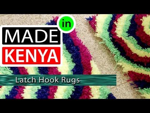 MADE IN KENYA - SEASON 4 - LATCH HOOK RUGS - DIDEE MATS