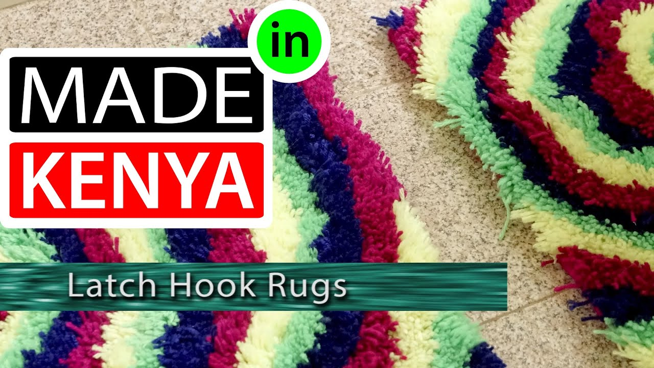 Floor mats kenya - Made In Kenya Season 4 Latch Hook Rugs Didee Mats