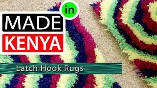 MADE IN KENYA - SEASON 4 - LATCH HOOK RUGS - DIDEE MATS