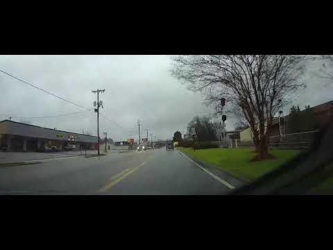 Driving Through Evergreen, Alabama
