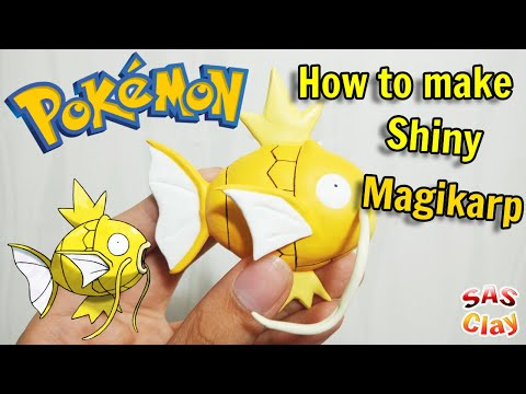 Pokemon Clay Art Tutorial - Shiny Magikarp the God Pokemon :) thumbnail