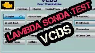 LAMBDA SONDA TEST - Test Sondy Lambda Audi vw škoda vag - Log Vcds