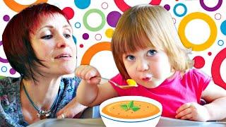 Суп для Бьянки Рецепт для детей Маша Капуки и Бьянка в Турции новый влог