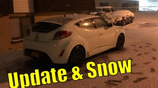 Veloster Heating Problem and Snow Update