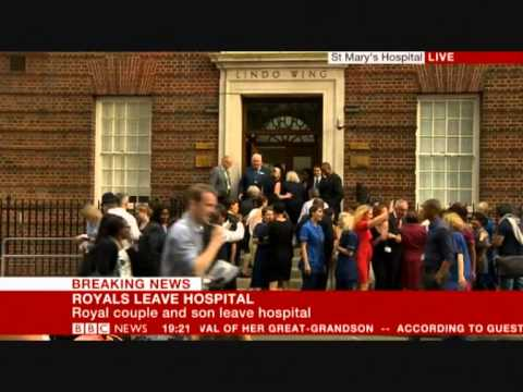 Nicholas Witchell pi$$ed off commentating on Royal Birth