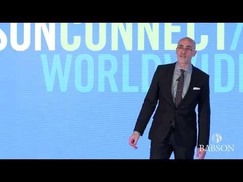 Babson Connect: Worldwide 2018 Keynote Speaker: Arthur C. Brooks