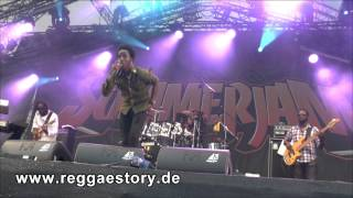 Romain Virgo - Mi Caan Sleep + Who Feels It Knows It - Summerjam 2013 - 2/4