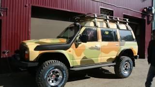 Подготовленный Nissan Patrol. Мастерская Гром-Строй, Новосибирск