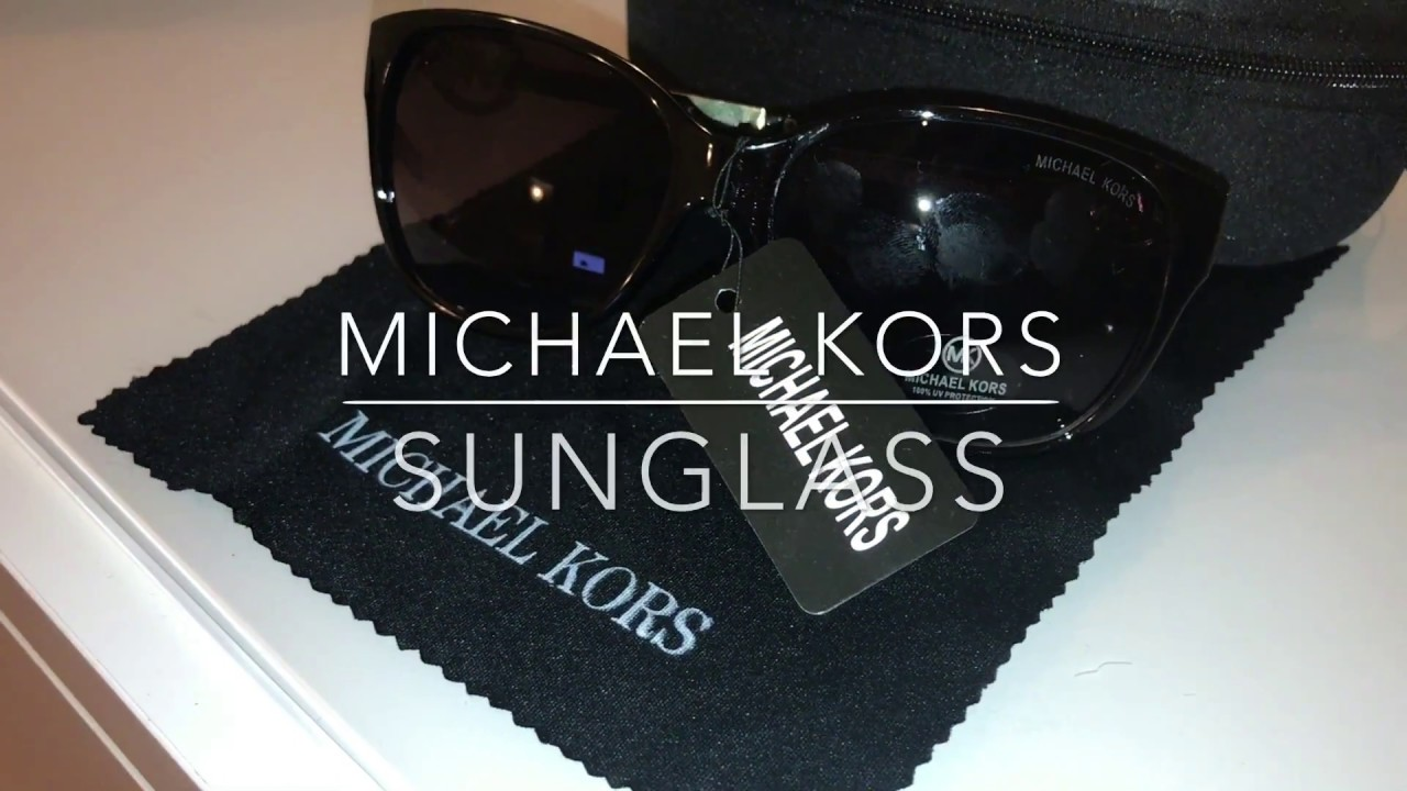 12843ef6aaa7 Fake Michael Kors Sunglass [REVIEW] - YouTube