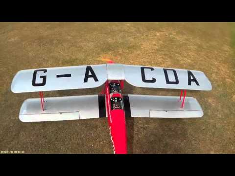 Phoenix Qtr Scale Tiger Moth with NGH 38cc 4 Stroke Gas Engine