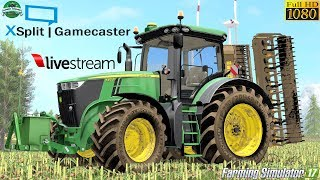 Farming Simulator 17   LIVE Streaming Stappenbach by #Gaming Evolved 1080p