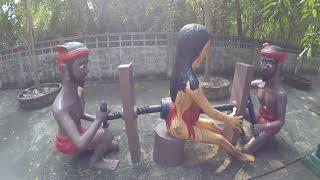 Храм ада и рая Чонбури Таиланд Эпизод 151