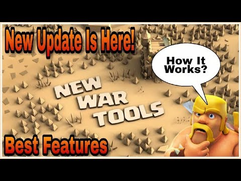 NEW CLAN WARS TOOL UPDATE IS HERE - How It Works? | Clash Of Clans HINDI