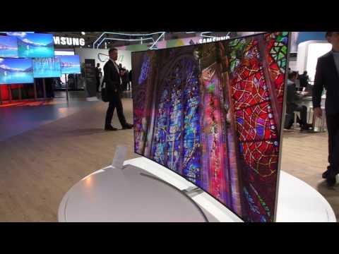 Q8C curved QLED 4K TV (2017)  von Samsung mit 100% Farbvolumen (DCI-P3)