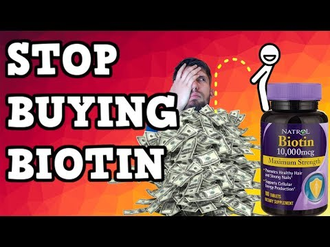 Biotin: Stop Buying It!!   #BeardTalk   Ep 3
