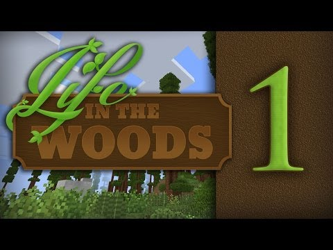 "Life In The Woods :: Minecraft Modpack - Part 1 - ""Can I eat that?"""