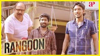 Rangoon Movie Scenes | Gautham works for Siddique | Gautham falls for Sana | Daniel Annie Pope