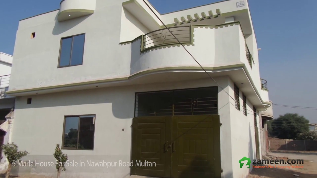 5 marla house is available for sale in nawabpur road for 5 marla villas