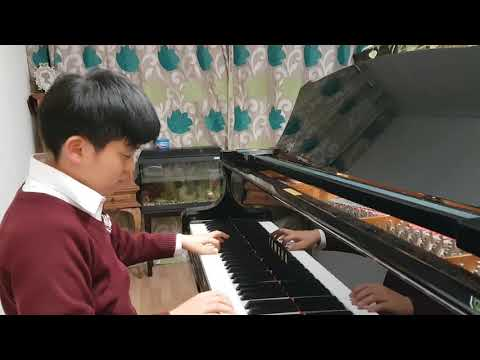 ABRSM Grade 8 Piano 2017-2018 A3: A3 Shchedrin Prelude and Fuge in A minor: Juni Kim 10 years old