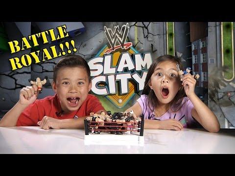 WWE SLAM CITY Battle Royal!! BIG SHOW, ALBERTO DEL RIO & Breakdown Assault Vault Unboxing/Review
