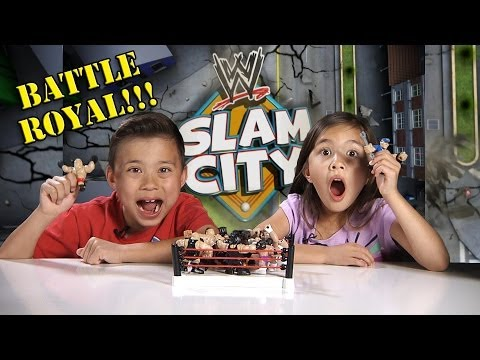 WWE SLAM CITY Battle Royal!! BIG SHOW, ALBERTO DEL RIO & Breakdown Assault Vault Unboxing/Review