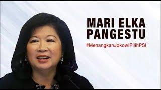 Mari Elka Pangestu Dukung Jokowi & PSI