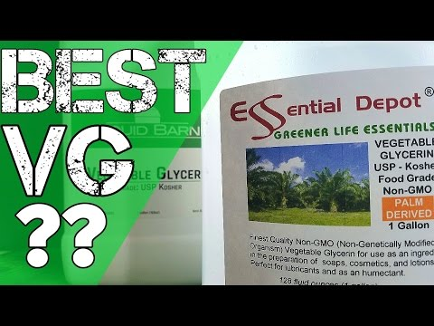 DIY E-Liquid Where Is The Best Place To Buy Vegetable Glycerin