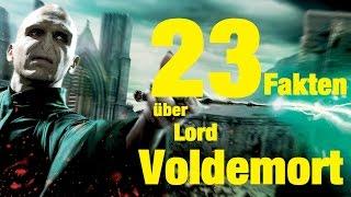 23 FAKTEN über Lord VOLDEMORT