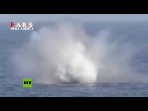 Irán lanza un misil de crucero desde un submarino en el golfo Pérsico