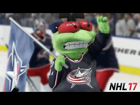 NHL 17 | RECREATING THE BLUE JACKETS 10-0 WIN