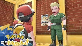 Pokémon Let's Go Pikachu & Eevee - Gameplay Walkthough Part 8 - Vermilion City Gym Leader Lt. Surge!