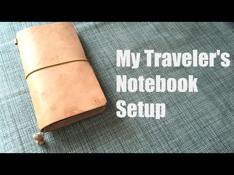 My Traveler's Notebook Setup | Eternal Leather Goods TN