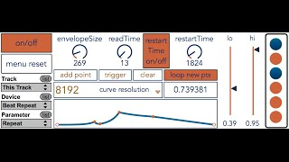 m4L - generativeBreakpointEnvelope - Ping Pong Delay