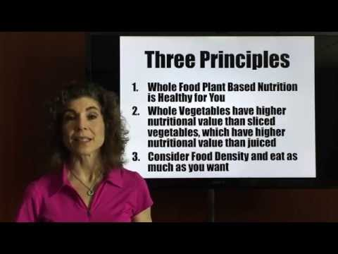 My Whole Food Plant Based Nutrition MyWFPBN Part II - Science & Foods